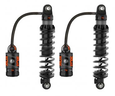 Fox x RSD Stoßdämpfer 3 Stufen verstellbar 13 Zoll Schwarz FLHR 18-20
