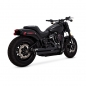 Mobile Preview: AUSPUFFANLAGE V&H BIG SHOTS STAGGERED 2 1/2 ZOLL FÜR SOFTAIL M8 AB Bj 18 UND EG ABE VARI