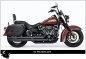 Mobile Preview: AUSPUFFANLAGE FP-PATRIOTFÜR M8 SOFTAIL AB 2018 MIT EG ABE VARI