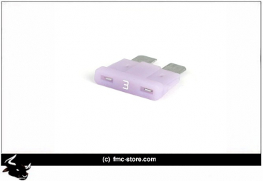 ATC FUSE WITH LED, 3 AMP, VIOLET