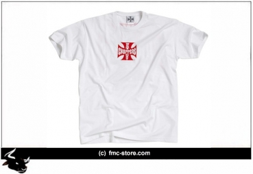 WCC ORIGINAL CROSS T-SHIRT WHITE