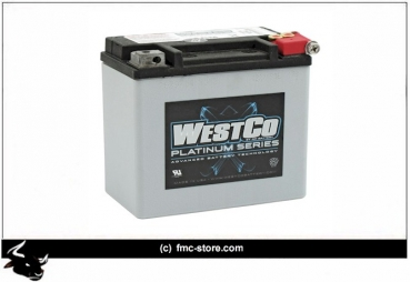 WESTCO, AGM BATTERY. 12V, 12AH 200CCA (SEALED: 220CCA)
