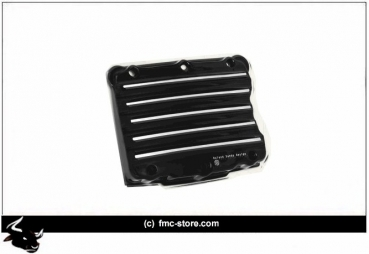 RSD NOSTALGIA ROCKER BOX COVER  BLACK CONTRAST CUT  FAT BOB 2007-2013