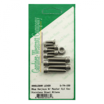 H/BAR CONTROL SCREW KIT 96-17 Dyna