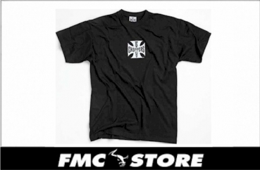WCC ORIGINAL CROSS T-SHIRT  SCHWARZ