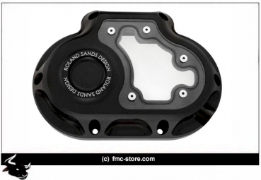 RSD TRANSMISSION END COVER CLARITY  BLACK  Low Rider AB 2008