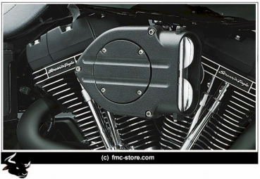 KURYAKYN HYPERCHARGER BLACK WRINKLE  ALLE TWIN CAM AB 08