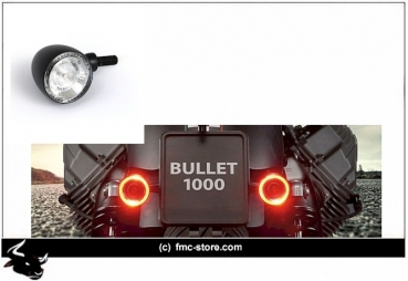 Kellermann Blinker Bullet DF1000 Rear black
