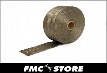 "THERMOTEC EXHAUST INSULATING WRAP CARBON FIBER 2"" WIDE"