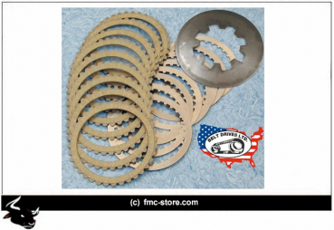 BDL KEVLAR EXTRA-PLATE CLUTCH PLATE KIT 91-17 XL