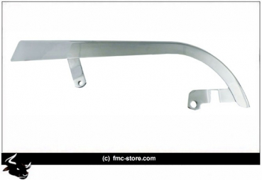 UPPER BELT GUARD, CHROME 92-99 FXDL