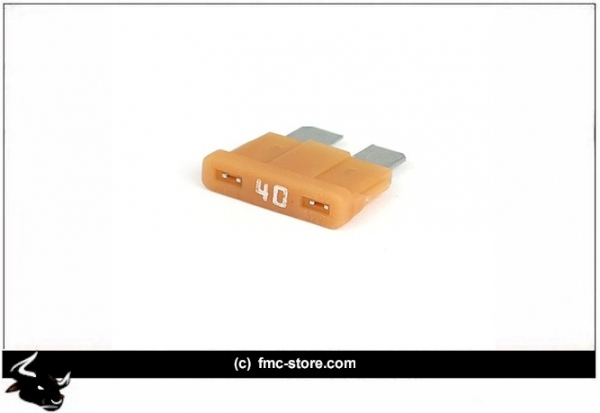 ATC FUSE WITH LED, 40 AMP, AMBER