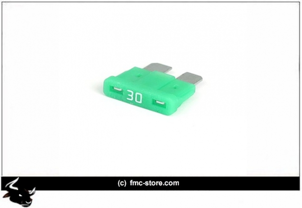ATC FUSE WITH LED, 30 AMP, GREEN