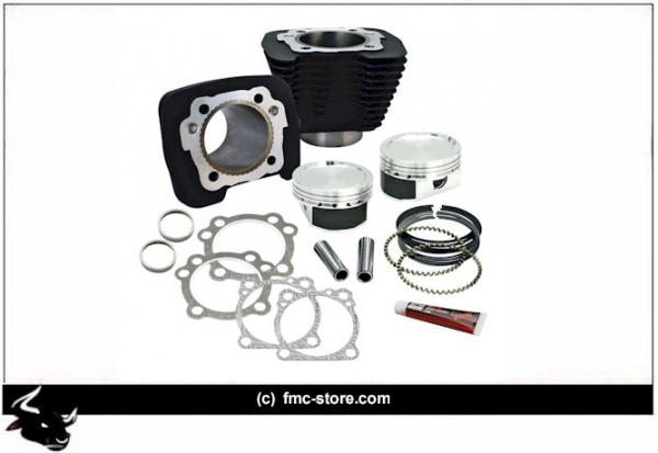 S&S CYLINDERS & PISTONS KIT 883 TO 1200