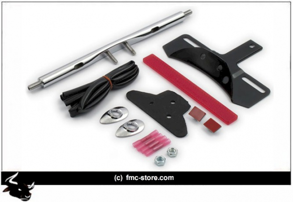 CHROM REAR TURN SIGNAL RELOCATION KIT